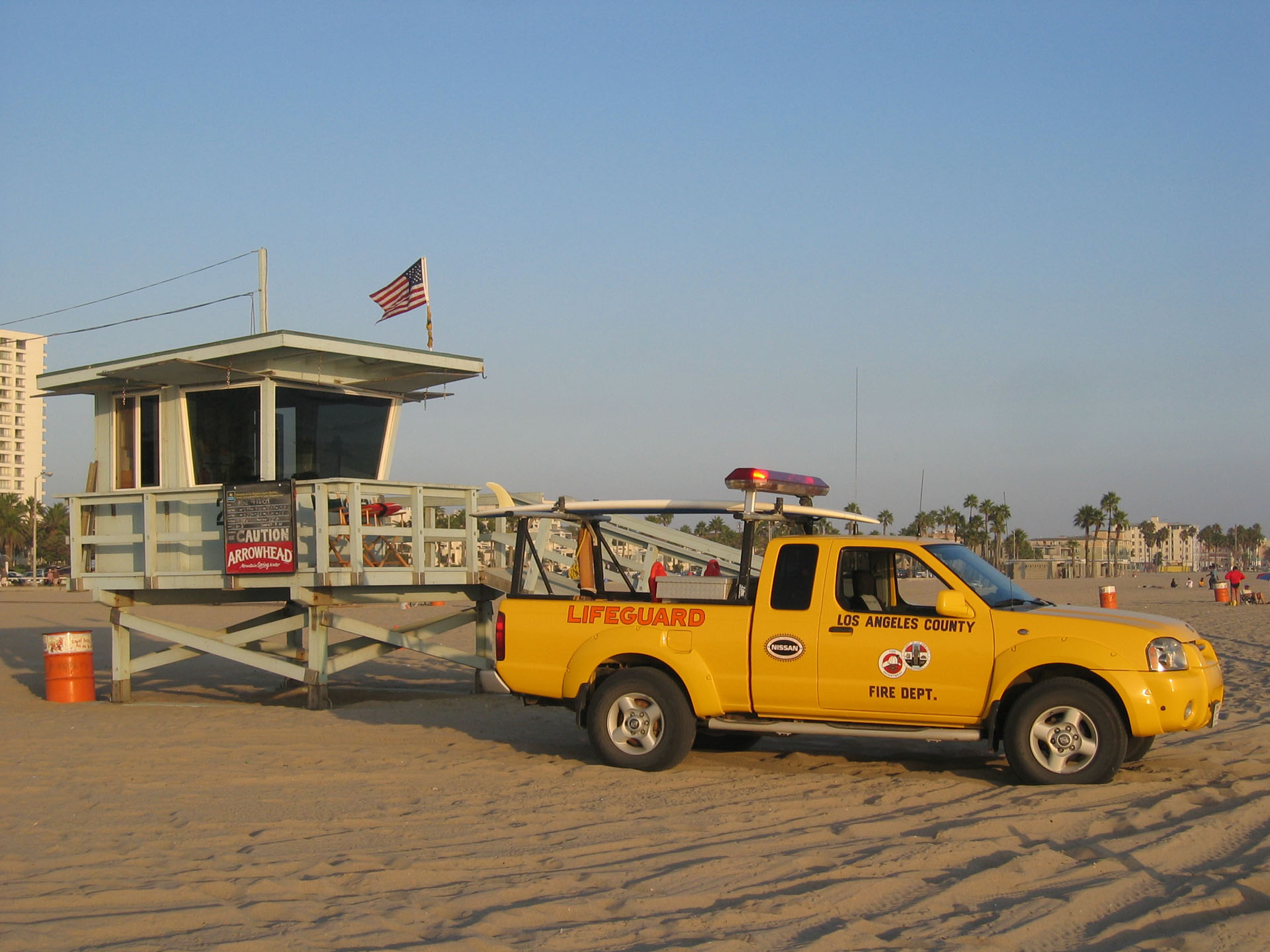 L.A. - Venice Beach - Lifeguard