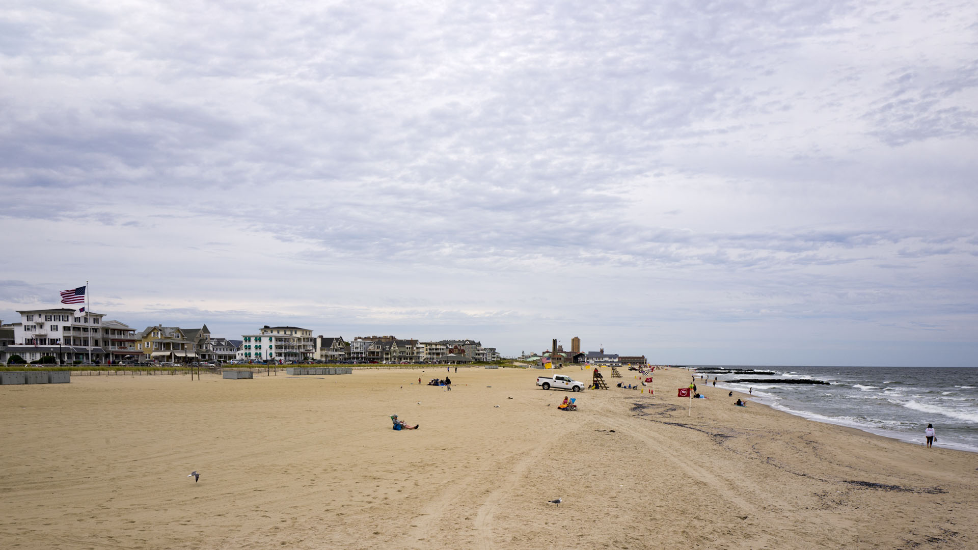 Strand in Ocean Grove - New Jersey